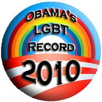 Obama's LGBT Record 2010